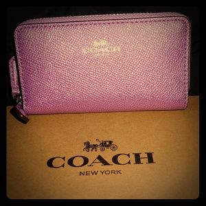 NWT🏷COACH Coin/Credit Card Wallet(with box)